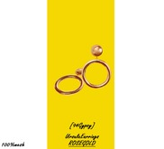 [94Gypsy] Ursula Earrings - Rosegold