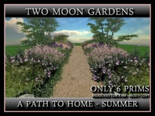 A PATH TO HOME - SUMMER* - LANDSCAPED PATH