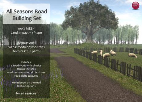 Izzie's - All Seasons Road Building Set