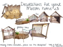 decorations for your mossms home <3