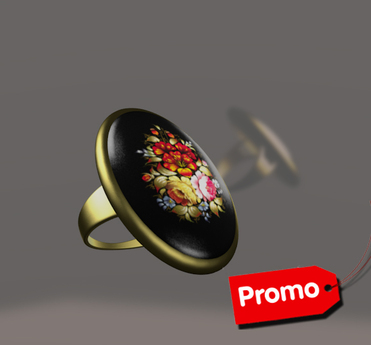 *AvaWay* Vintage Ring # 4 Promo Jewelry