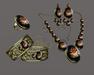 *AvaWay* Vintage Bracelet & Ring & Earrings & Necklace # 4 Jewelry