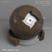 Seamless Modern Tile Materials  - Dark Brown  - Diffuse Normal Specular