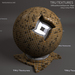 Seamless Domestic Tiles Texture Materials - Coffee - Diffuse Normal Specular