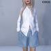 *COCO*_Shirt&Shorts(Hands in Pockets)_LightBlue