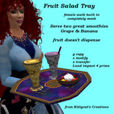 Fruit Salad Tray (female) box