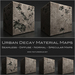 30 Urban Decay Material Maps Damaged Plaster Materials  - Diffuse Normal Specular