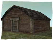 -ADI- Mesh Wooden Hut