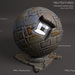Seamless Weathered Clay Tile Material Maps  - Diffuse Normal Specular Maps