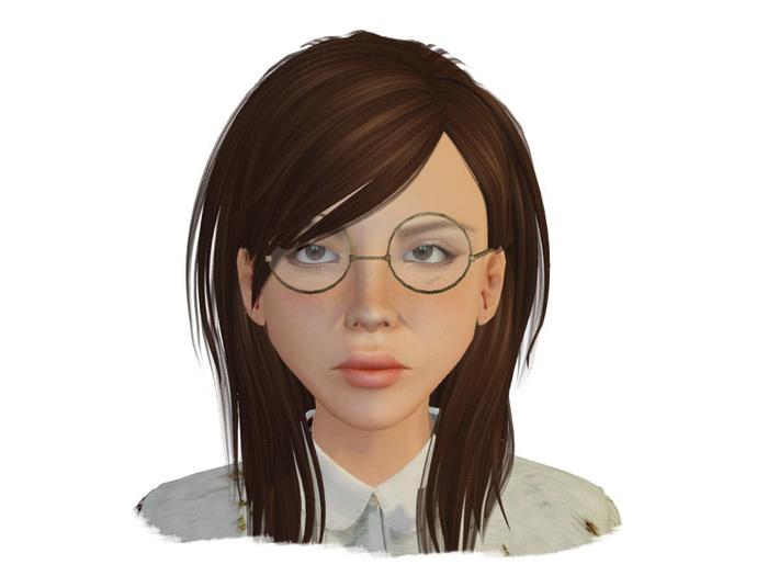 -ADI- Mesh Papa's Glasses