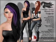 Tameless Complete Female Avatar Valorie Ultimate Set (slink+lolas+phat azz+wowmeh+loud mouth+baby bump & more)