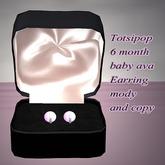 !!! AFA Earring Pearl mody