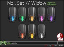 [M] Slink Nail Polish // Widow