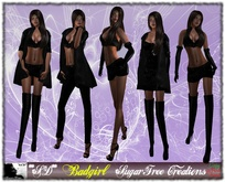 **SD** -BADGIRL Fatpack ( MESH Outfit ) Boots and shoes all included