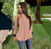 Summer Top Coral - (tm) Freeky