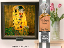 Promo: │T│L│C│ 1 Prim Mesh Picture Frame - Wall Art [The Kiss]