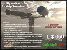 Flywalker Airship Terminal and Tower (BOXED)