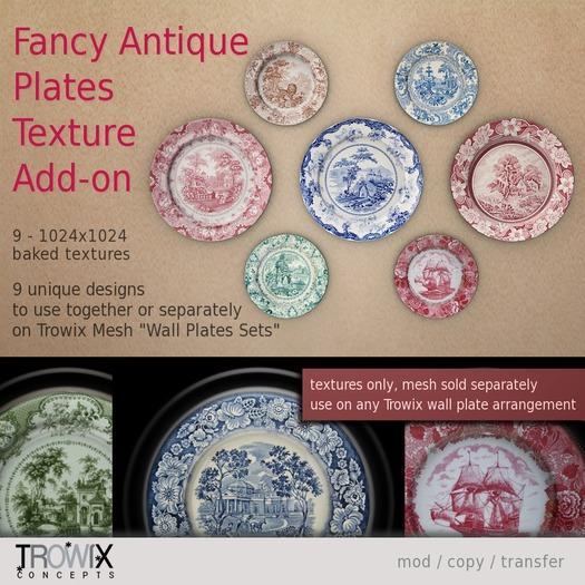 Trowix - Fancy Antique Plate Texture Add-on