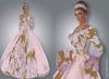 FaiRodis Flower fantasy medieval MESH+FLEXI gown