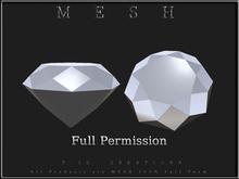 T-3D Creations [ DIAMOND No.2 ] Micro MESH - Full Perm -