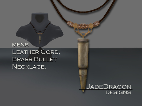 Bullet Necklace - Mens