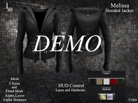 DE Designs - Melissa - Hoodie Jacket - DEMO