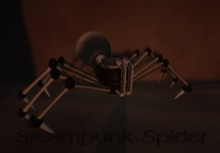 Steampunk Spider Avatar Boxed