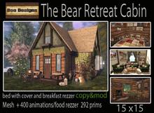 PROMO ! The Bear Retreat Cabin - box