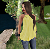 Summer Top Yellow - (tm) Freeky
