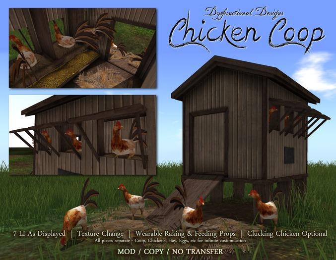 [DDD] Chicken Coop Set