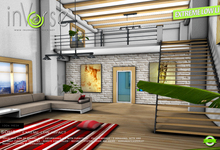 inVerse®- SoHo -EXTREME LOW LI full furnished mesh loft skybox