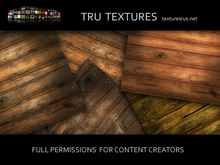 10 Seamless Medieval Aged & Distressed Wood Plank Floor Textures
