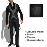 *Me Sew Sexy* - Double Vest Suspenders Outfit Package