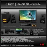 [ kunst ] - Media PC set (Transfer version)