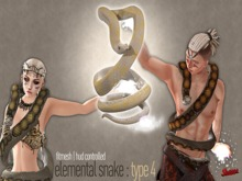 [SWaGGa] Elemental Snake Type 4 ( Fitted Mesh / Fitmesh )