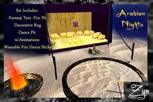 Zyn ~ Arabian Nights Fantasy Set