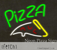 [Fetch] Neon Pizza Sign