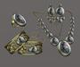 *AvaWay* Bracelet & Ring & Earrings & Necklace # 5 Jewelry