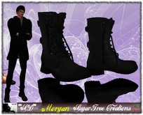**SD** MORGAN Latex Leather Boots