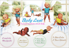 Baby Lunt Realistic Mesh Baby *NEW* Get Your Own Baby! *