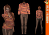 REAL FASHION Blouse and pants set - Brown