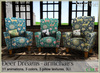*old item discount* Deer Dreams armchairs set