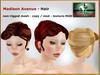 Bliensen + MaiTai - Madison Avenue - Hair - vintage updo - Blonds