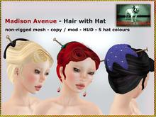 DEMO Bliensen + MaiTai - Madison Avenue - Hair - with hat