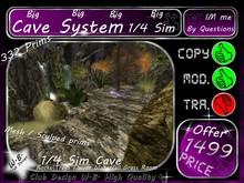 1/4 Sim ** Cave System **