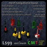 mesh navigational buoys (boxed)
