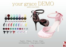 . Sweet Thing. Your Grace Heels for Slink Mid - Demo