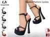 Full Perm Rigged Mesh Studded Platform Sandals
