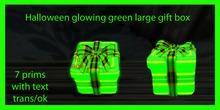 glowimg green ( large gift box )