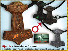 Bliensen + MaiTai - Mjolnir - Viking Necklace for MEN